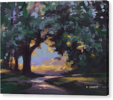 Canvas Print - To The River by Donna Shortt