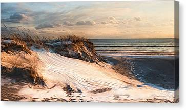 Canvas Print featuring the photograph To The Sea by Robin-Lee Vieira