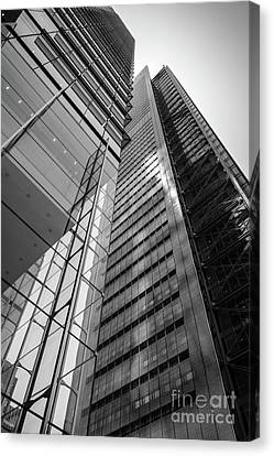 To The Top   -27870-bw Canvas Print by John Bald