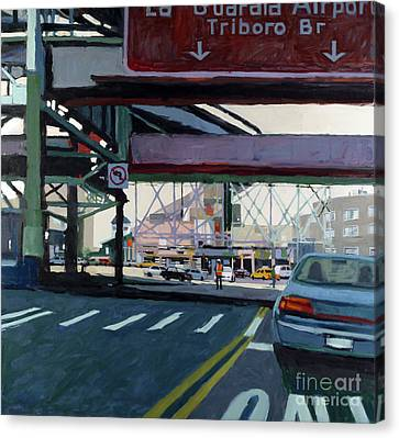 To The Triboro Canvas Print by Patti Mollica
