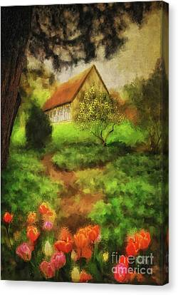 Canvas Print - To The Tulips by Lois Bryan