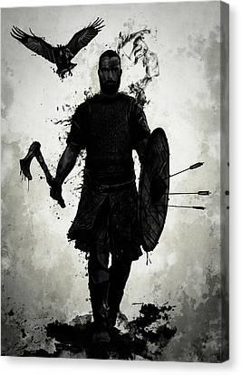 Vikings Canvas Print - To Valhalla by Nicklas Gustafsson