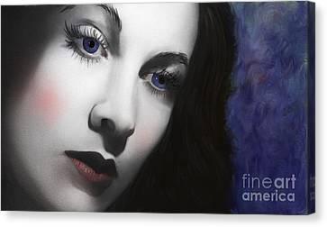 To Vivian Leigh Canvas Print by Sydne Archambault