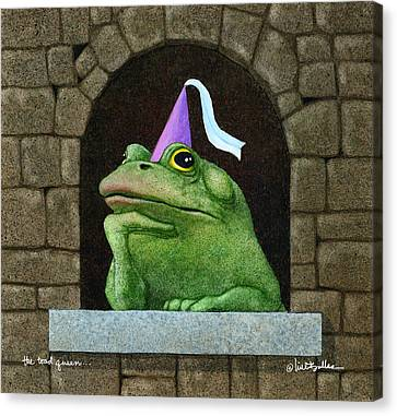 Toad Queen... Canvas Print