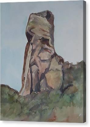 Toad Rock Canvas Print