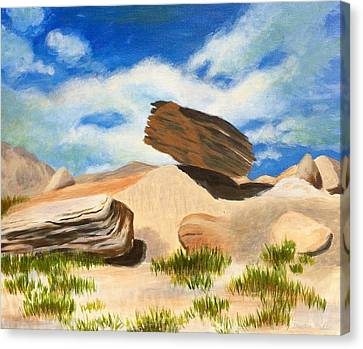 Toadstool Park Nebraska Canvas Print