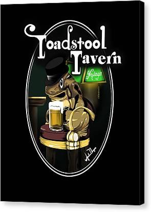 Toadstool Tavern  Canvas Print