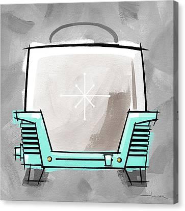Toaster Aqua Canvas Print