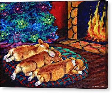 Toasty Toes Canvas Print