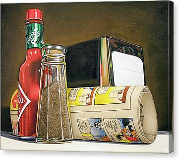 Tobasco Canvas Print