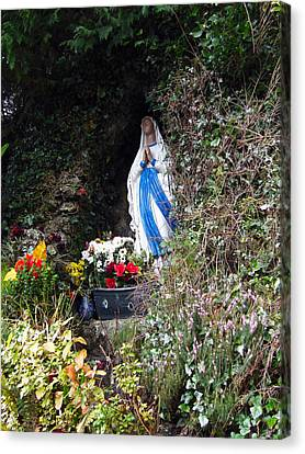 Tobernalt Holy Well Canvas Print by Amy Williams