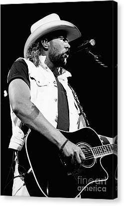Toby Keith 95-1552 Canvas Print