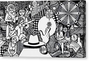 Today I No More Have Birthdays Canvas Print by Jose Alberto Gomes Pereira