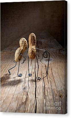 Odd Canvas Print - Together 05 by Nailia Schwarz