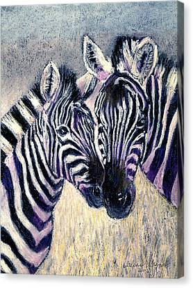 Together Canvas Print by Arline Wagner