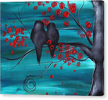 Together As One Canvas Print by  Abril Andrade Griffith