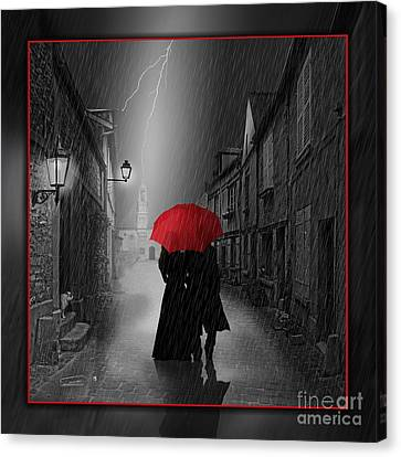 Together Forever Canvas Print by Monika Juengling