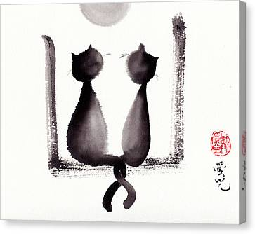 Together We'll Grow Old Canvas Print by Oiyee At Oystudio