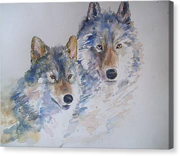 Togetherness Canvas Print by Susan Ryder