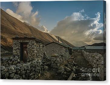 Canvas Print featuring the photograph Toilet by Mike Reid