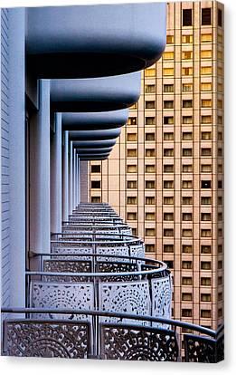 Casting Canvas Print - Tokyo Balconies by Jay Heiser