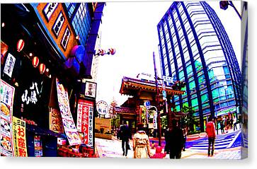 Tokyo Canvas Print by Jera Sky