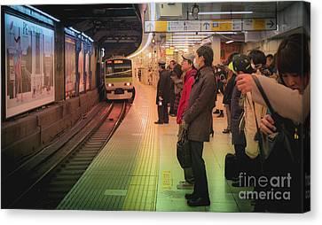 Tokyo Metro, Japan Canvas Print