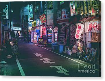 Tokyo Side Streets, Japan Canvas Print