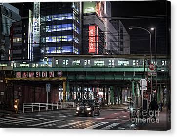 Tokyo Transportation, Japan Canvas Print