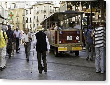 Toledo Man 2 - Spain Canvas Print