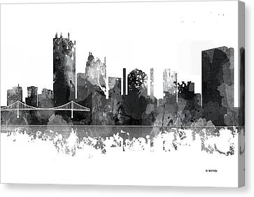 Toledo Ohio Skyline Canvas Print by Marlene Watson