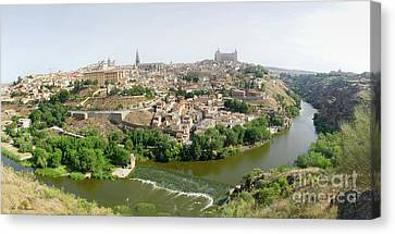 Toledo, Spain Panoramic View Canvas Print