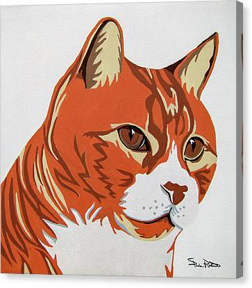 Tom Cat Canvas Print by Slade Roberts