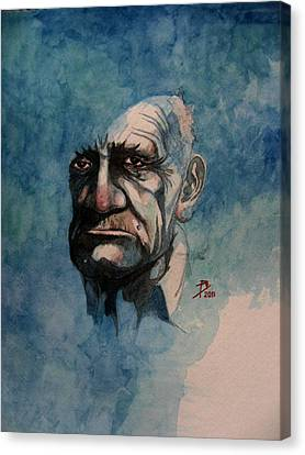 Tom Canvas Print by Ray Agius