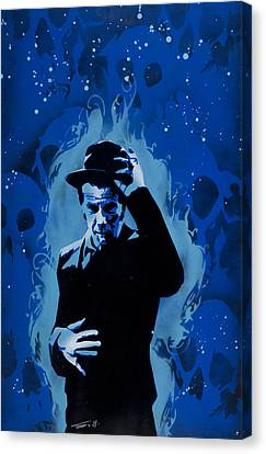 Blues Singers Canvas Print - Tom Waits by Tai Taeoalii