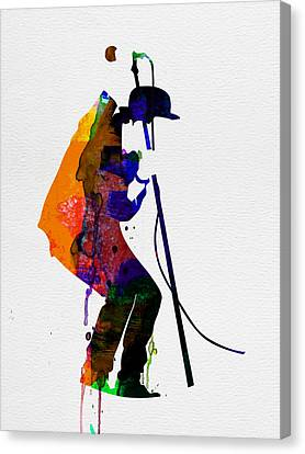 Tom Watercolor Canvas Print