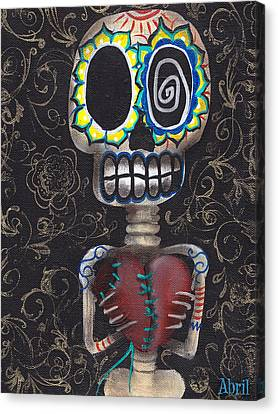 Gothic Canvas Print - Toma Mi Corazon by  Abril Andrade Griffith