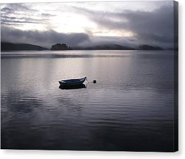 Tomales Bay At Sunset Canvas Print