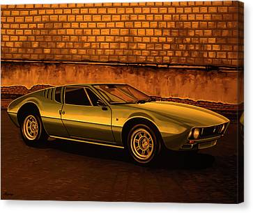 Tomaso Mangusta Mixed Media Canvas Print by Paul Meijering