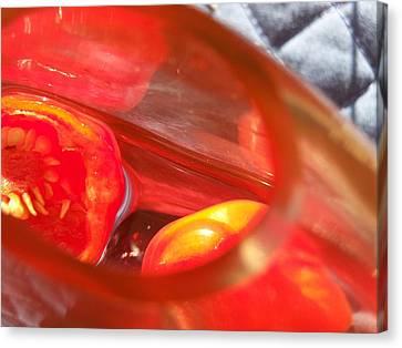 Tomatoe Red Canvas Print