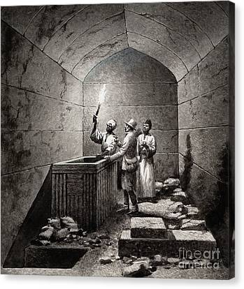 Tomb Chamber Of Menkaura Canvas Print