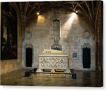 Tomb Of Vasco De Gama Canvas Print