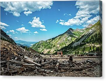 Tomboy Canvas Print - Tomboy Mine  Ghost Town by George Buxbaum