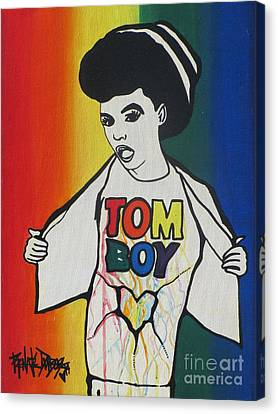 Tomboy Canvas Print by Renate Dubose