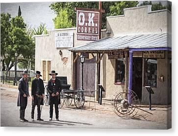 Tombstone Arizona Canvas Print