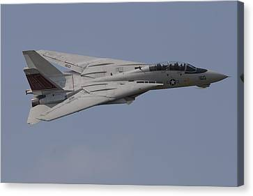 Tomcat Fly-by Canvas Print