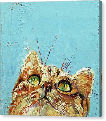 Caricature Canvas Print - Tomcat by Michael Creese