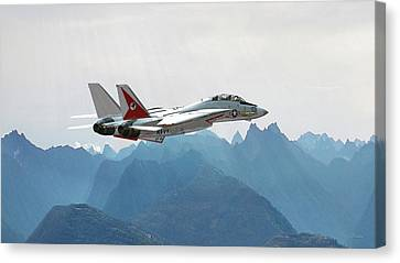 Tomcats Come To The East Coast Canvas Print