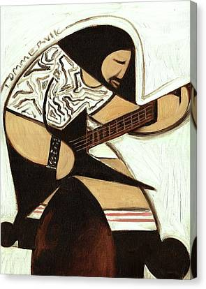 Canvas Print featuring the painting Tommervik Rocker Art Print by Tommervik