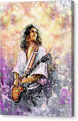 Tommy Bolin Canvas Print